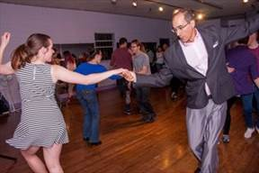 picture where Swing/Lindy Dancing in Boulder event Boulder Swing Dance is happening