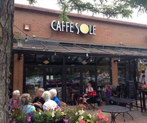 picture where Swing/Lindy Dancing in Boulder event Caffe Sole - food, libations, & Jazz is happening