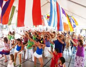 picture where Folk Also Dancing in Boulder event International Dance Festival is happening