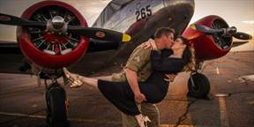 picture where Swing/Lindy Dancing in Boulder event 1940s WWII-Era USO-Style Ball is happening